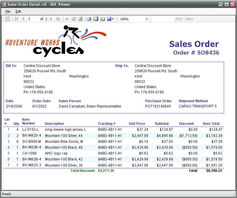 Sales Order Images - Reverse Search